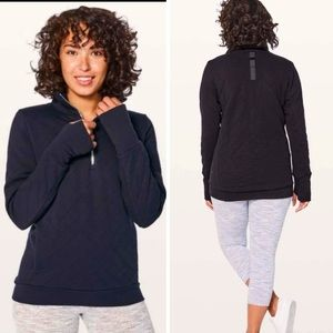 Lululemon Forever Warm Quilted pull-over